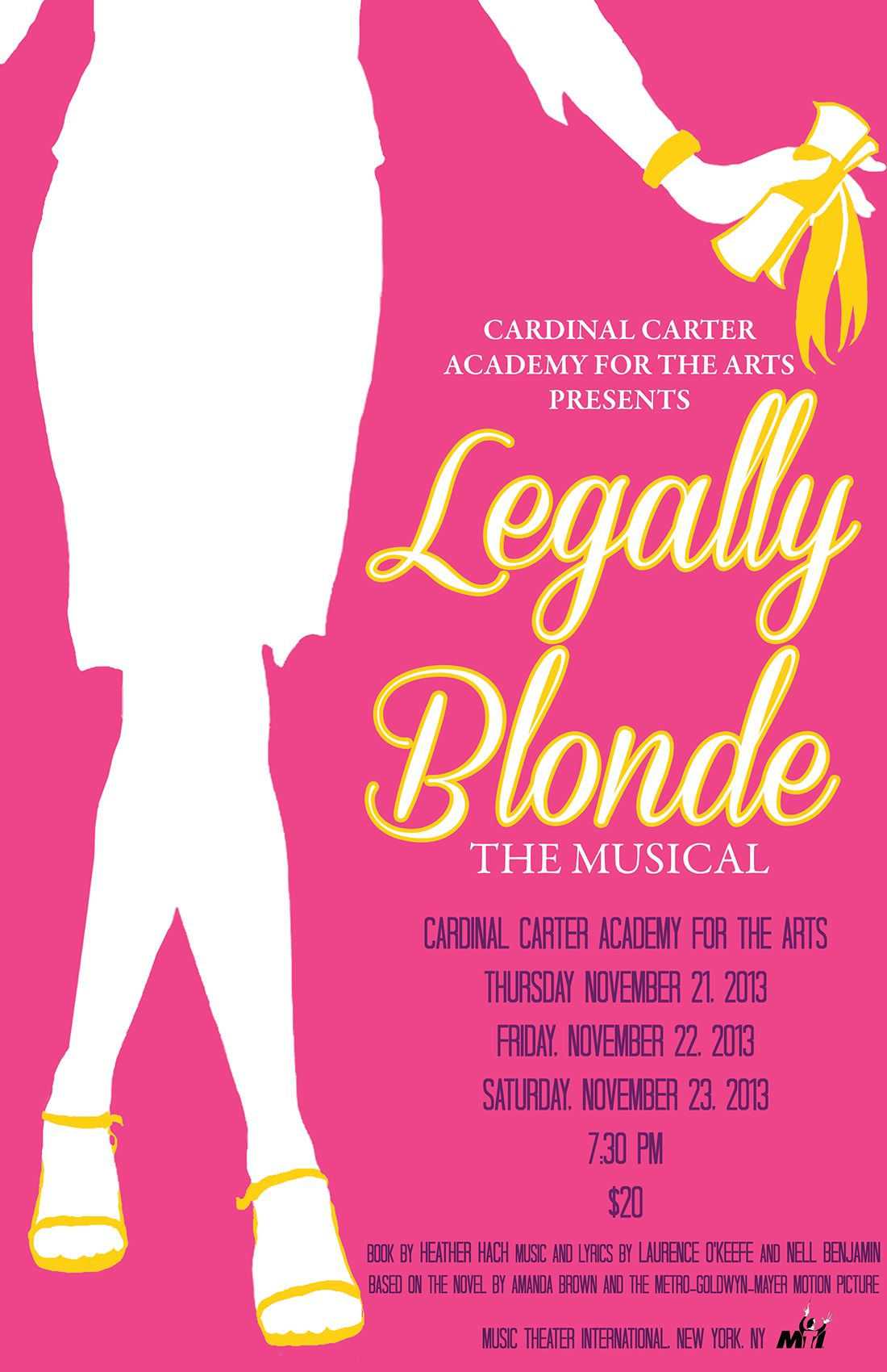 Legally Blonde Cardinal Carter Academy For The Arts Dog Care