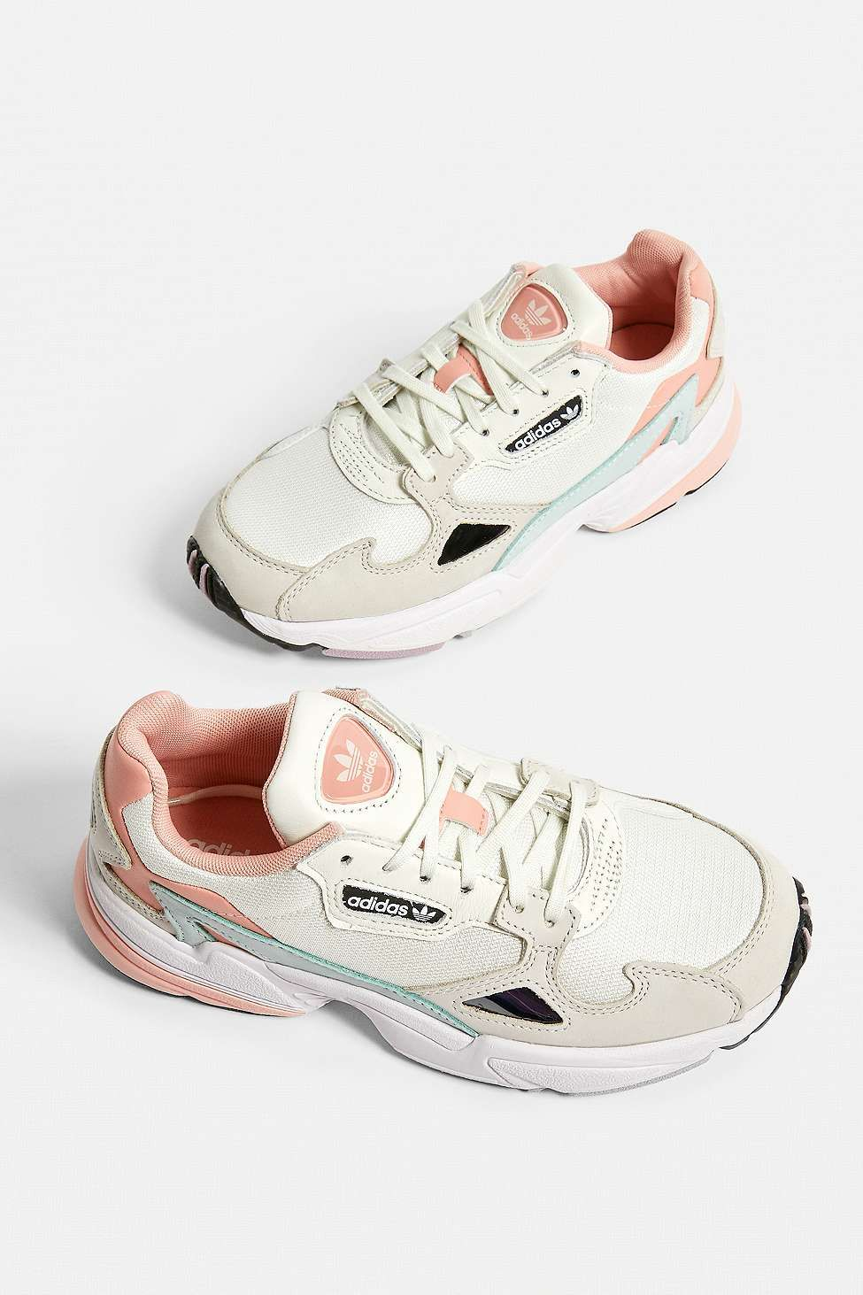 adidas Originals Falcon Pale Pink Trainers | Adidas shoes