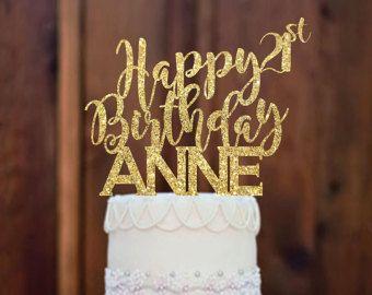Cake Topper Happy Birthday By MommyGotTalent