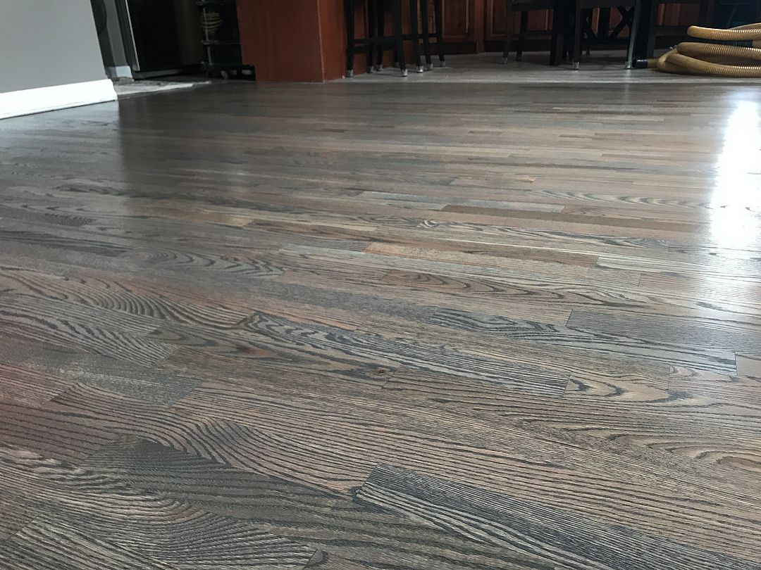 Pictures Of The Warm Grey Floor From Last Week Before Final Coat