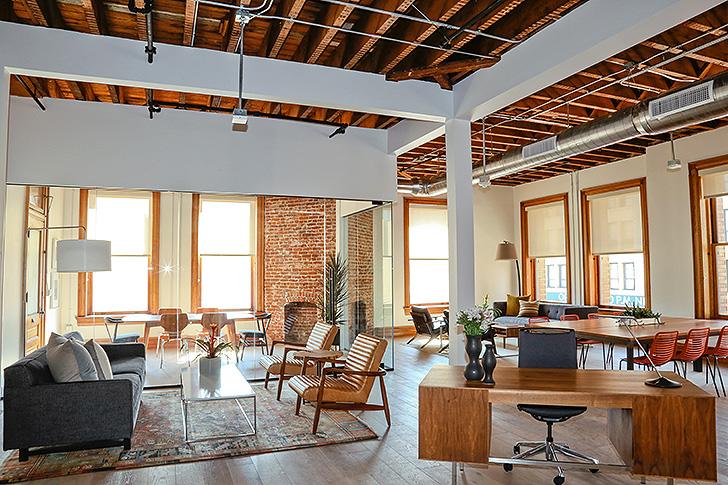 Modern Office In An Architectural Icon: The Bradbury ...