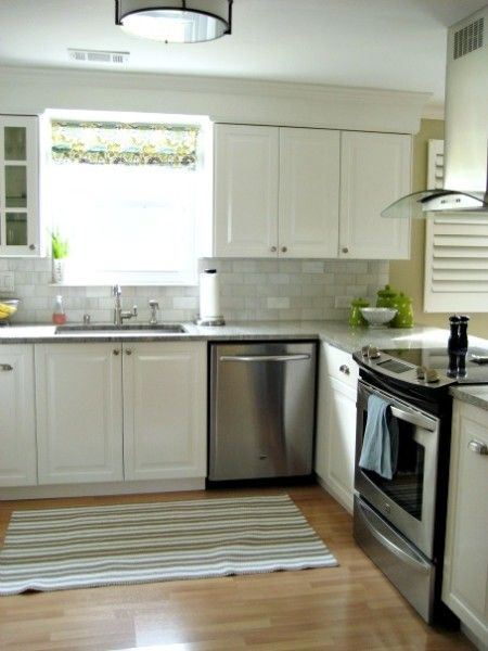 Using Crown Molding with Ikea Lidingo Cabinets   Kitchen ...