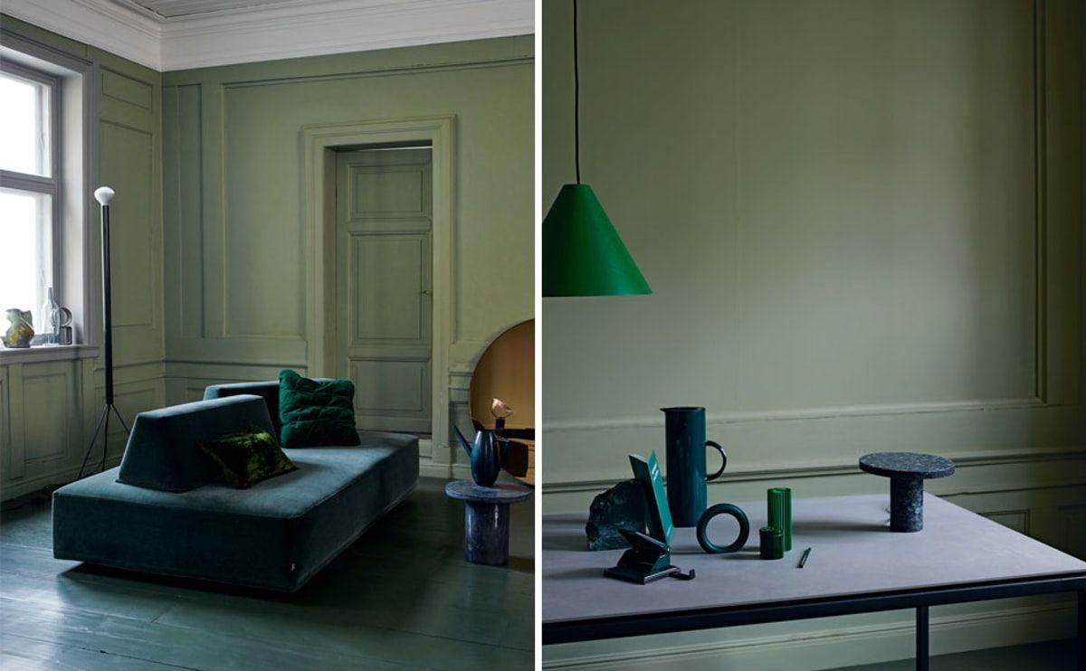 Det rent funktionelle er ikke længere det eneste, der er på dagsordenen i den skandinaviske måde at indrette boligen på. Nu skal rummene have en monokrom farveorientering, og interiøret et grafisk udtryk.