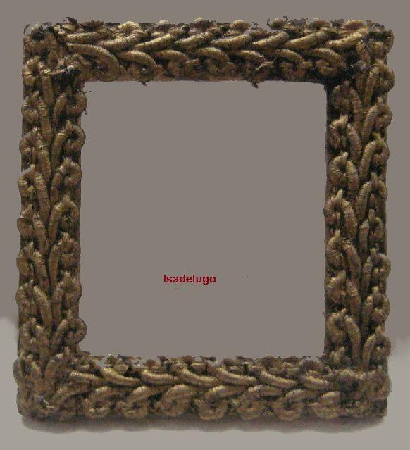 how to: antique look miniature frame | tutorials: miniature arts ...