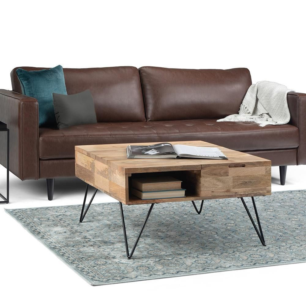 Hunter Lift Top Square Coffee Table In 2021 Coffee Table Coffee Table Square Lift Top Coffee Table [ 1000 x 1000 Pixel ]