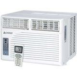 Chigo - 8,500 BTU Window Air Conditioner - White