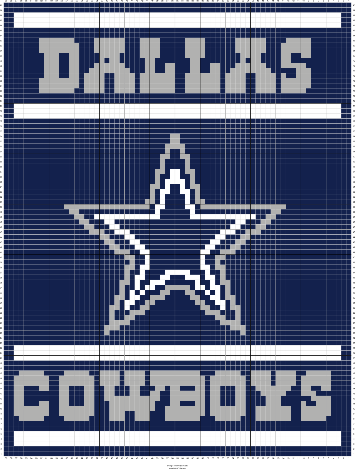 Cowboys Twin Blanket | Designed by Katherine Prentice | Stitch ...