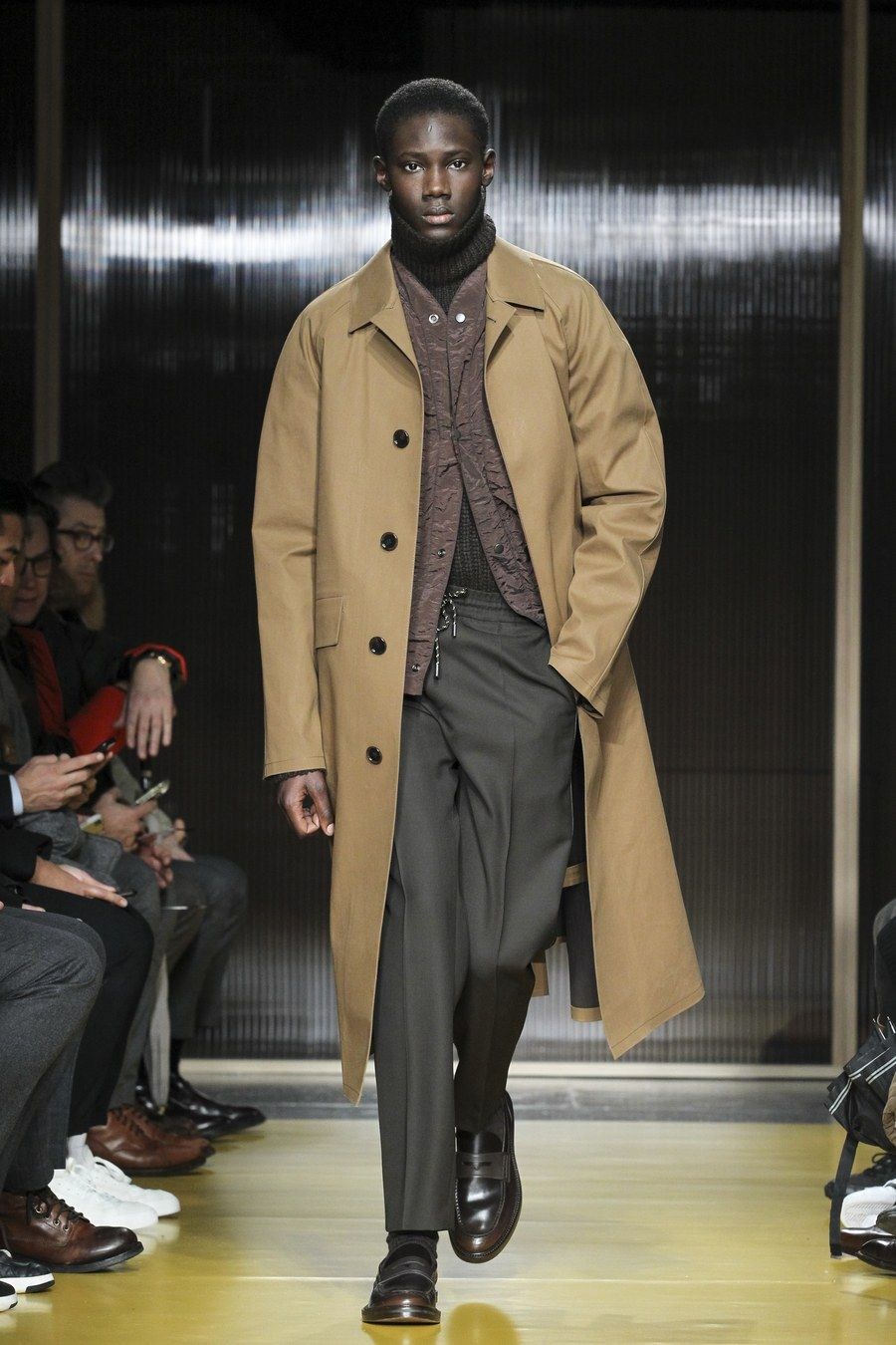 Boss fall menswear fashion show in mens fashion