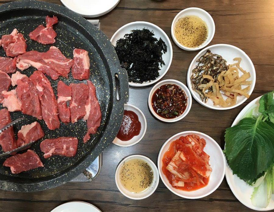 Pin By Sofia Doloh On Fotografi Pemandangan In 2020 Food Korean Food Halal Recipes