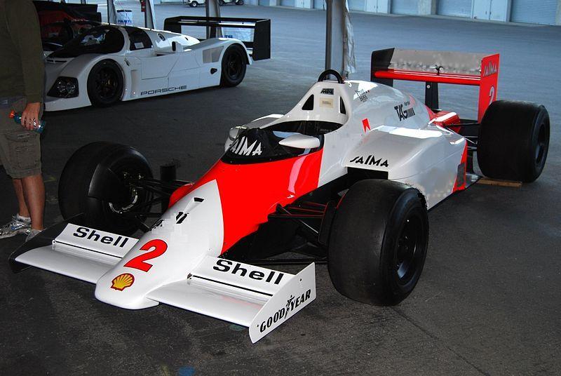 McLaren MP4/2C - TAG Porsche