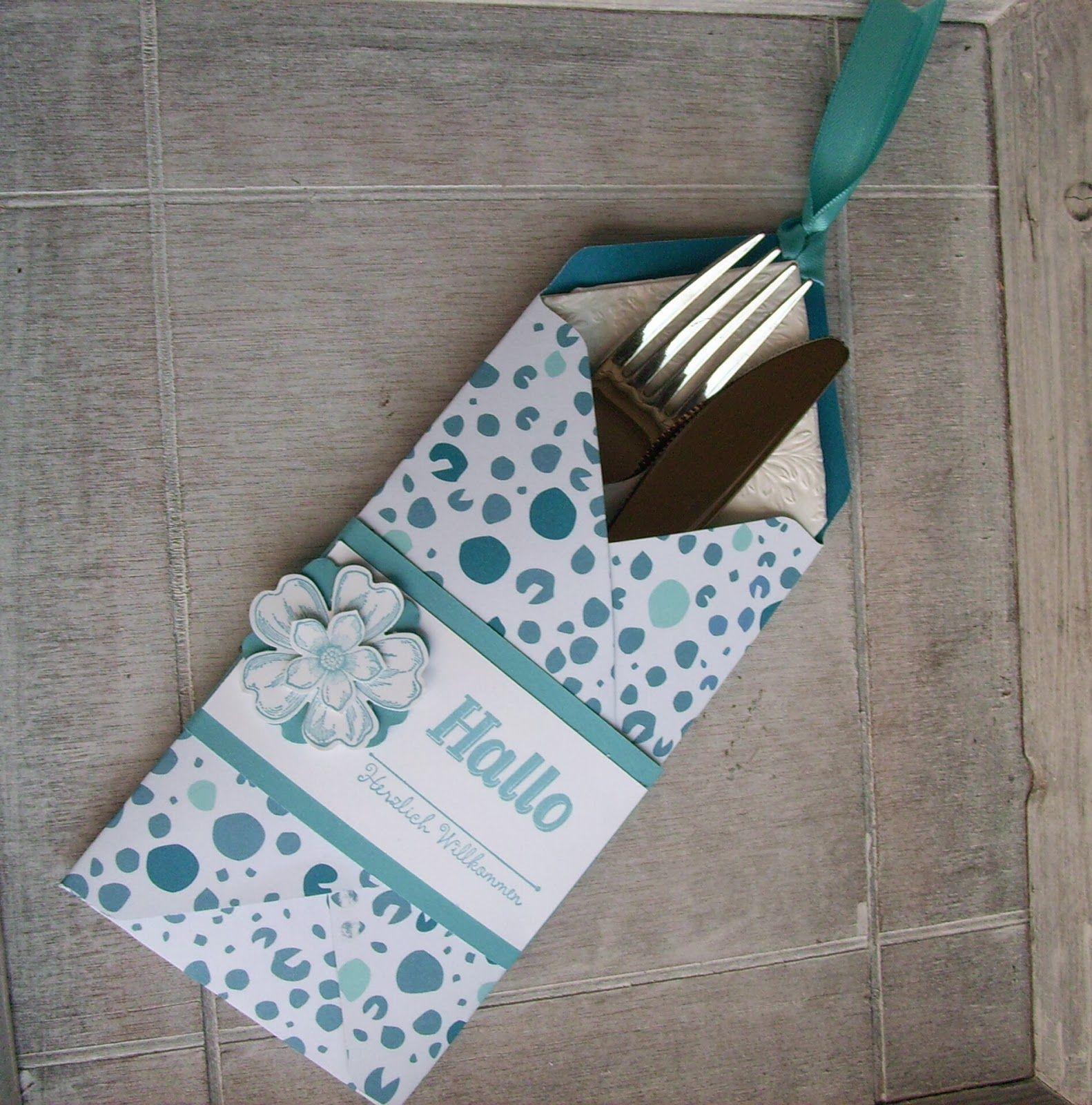 Bestecktaschen Basteln bestecktaschen mit dem envelope punchboard bestecktasche