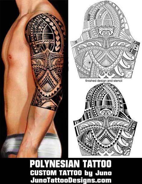 polynesian tattoo template juno tattoo designs