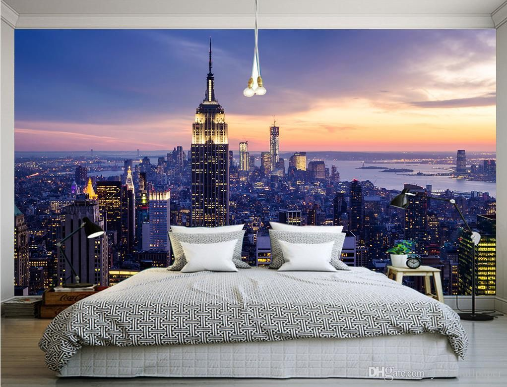 town metropolis new york from the top views review sun light dawn