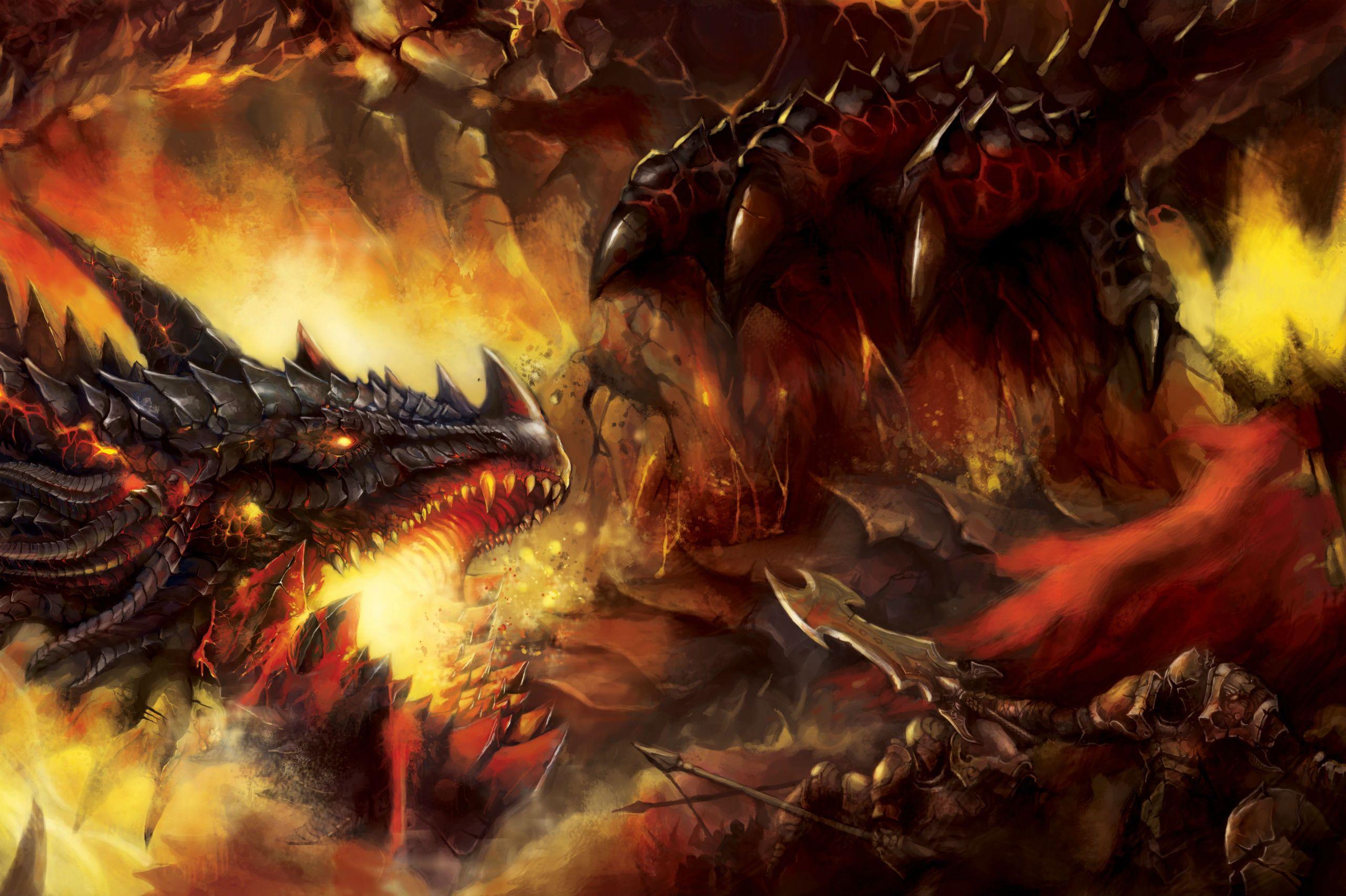 Dragon de feu ..