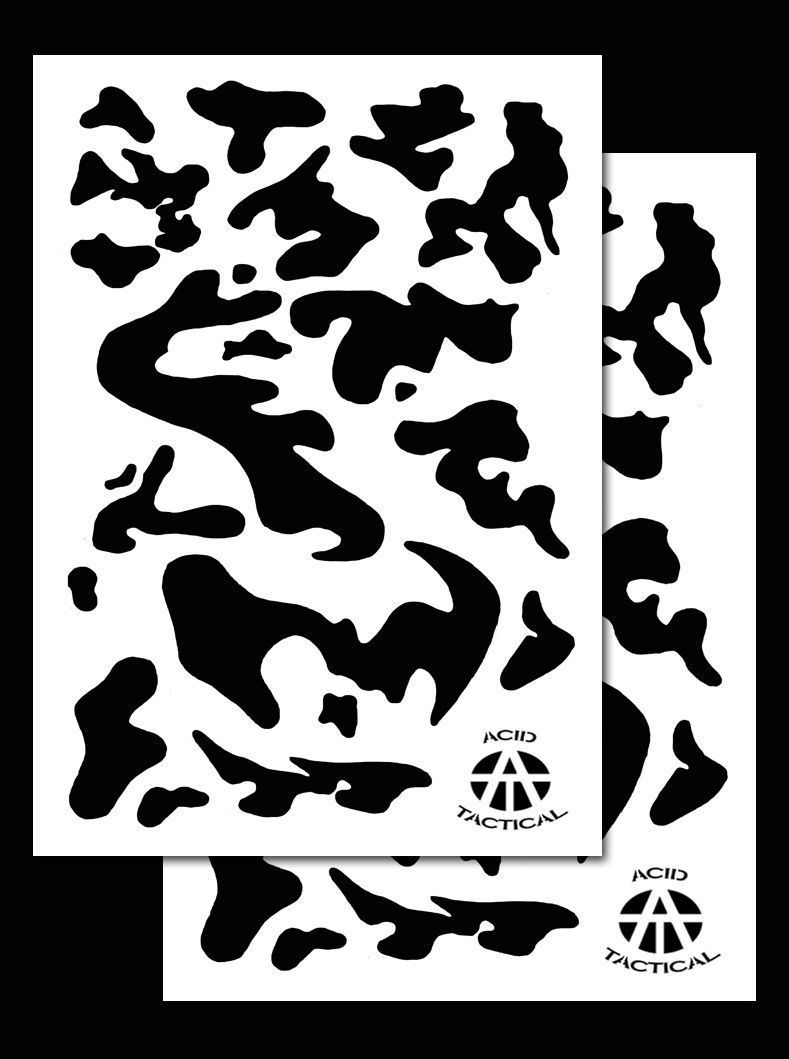 2pack vinyl airbrush stencils 10 mil camouflage duracoat 9x14 vinyl airbrush stencils 10 mil camouflage duracoat 9x14 army amipublicfo Choice Image