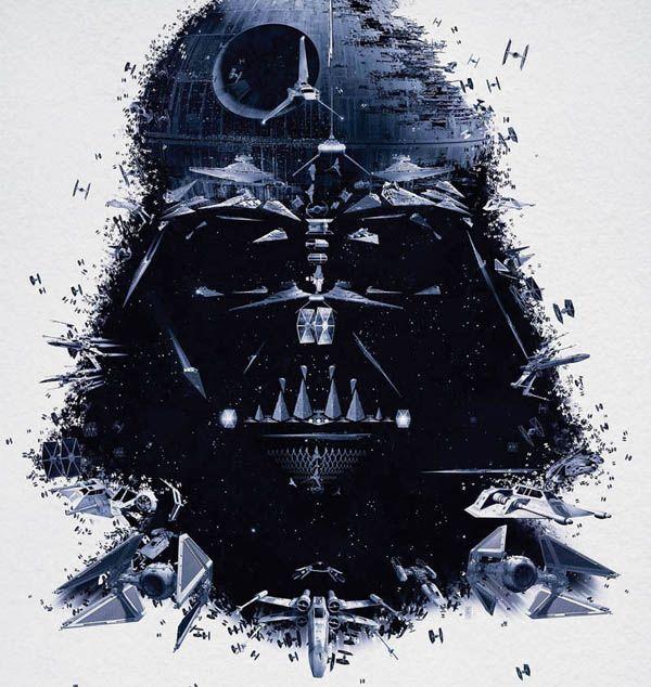 Star Wars 'Identities' Exhibition poster - Darth Vader