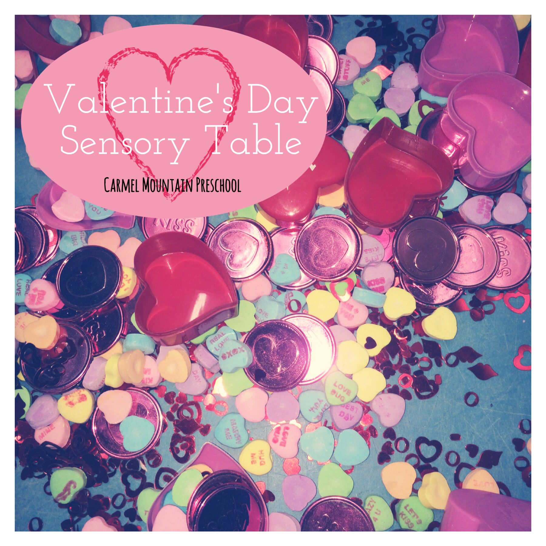 Use Candy Hearts Heart Coins Heart Sequins Containers