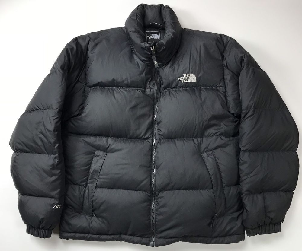The North Face Men S Nuptse Down Jacket 700 Fill Puffer Puffy Medium M Black Men Minimalist Fashion North Face Puffer Jacket North Face Mens [ 832 x 1000 Pixel ]
