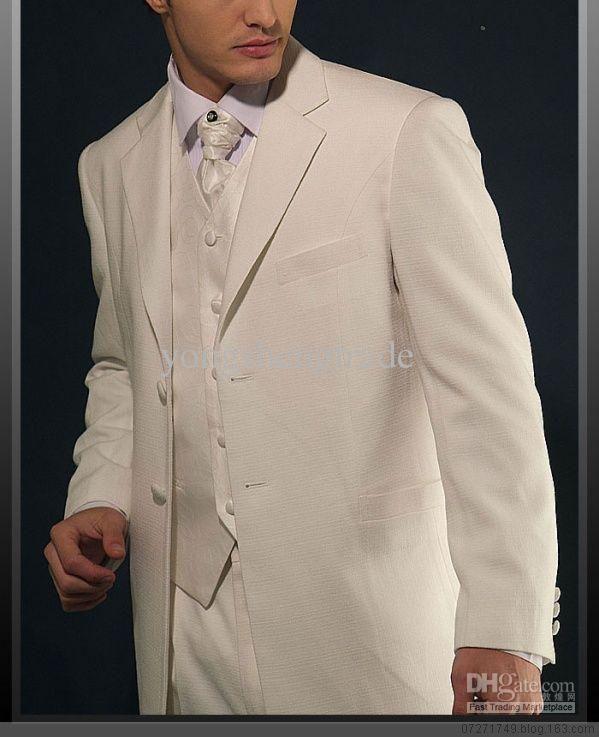 Ivory Wedding Suit Tailor Suits Men Wedding Suit Popular Men ...