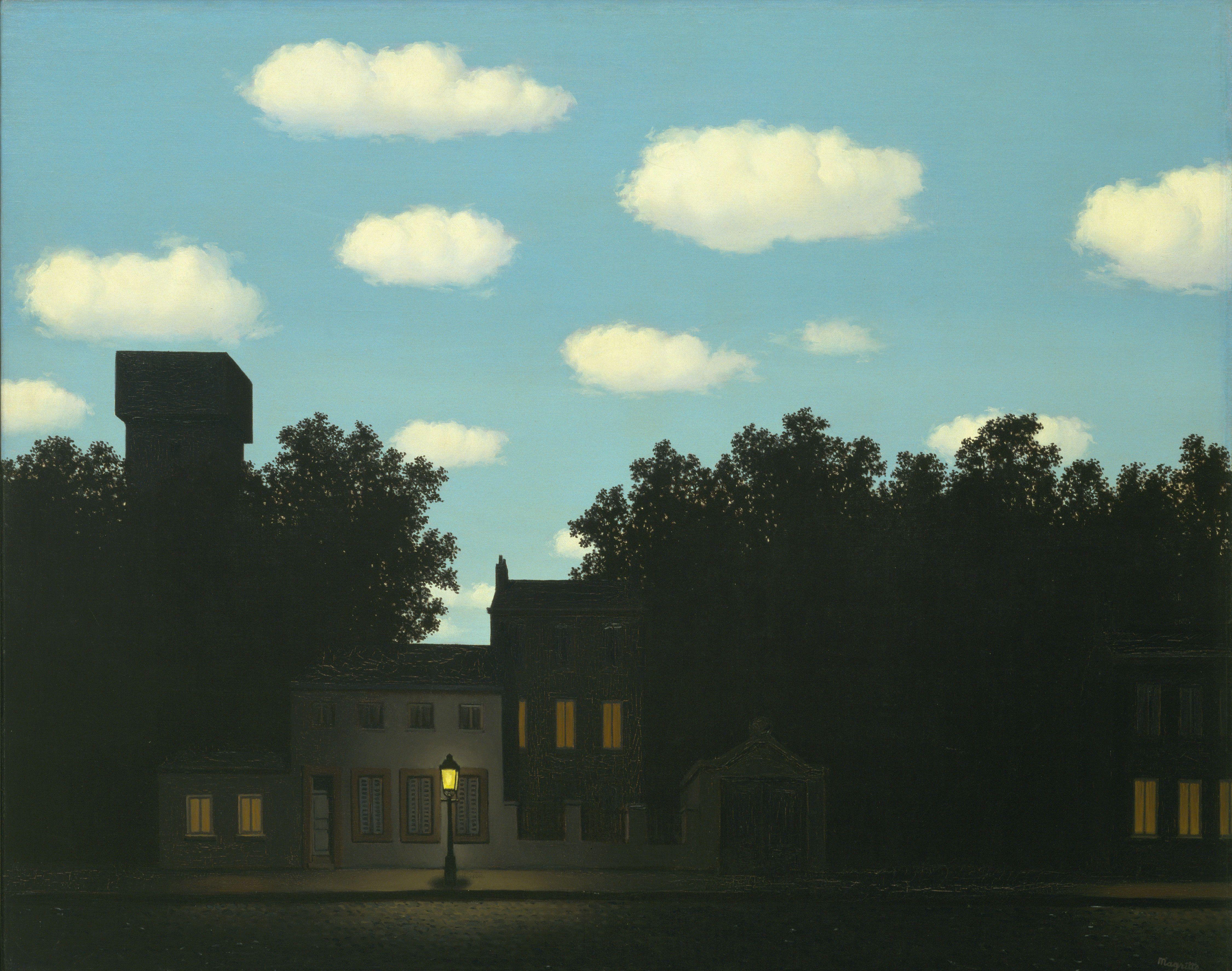 René Magritte Kingdom Of Light Art Pinterest