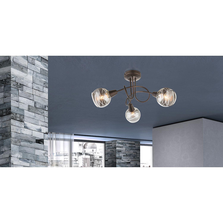 Led Deckenleuchte Farbwechsel Bad Wohnzimmerlampen Messing Led Esszimmer Lampe Industrie Look In 2020 Beleuchtung Decke Led Deckenleuchte Led Deckenleuchte Kuche