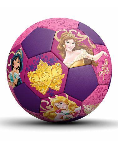 Look at this #zulilyfind! Disney Princess Junior Soccer Ball #zulilyfinds