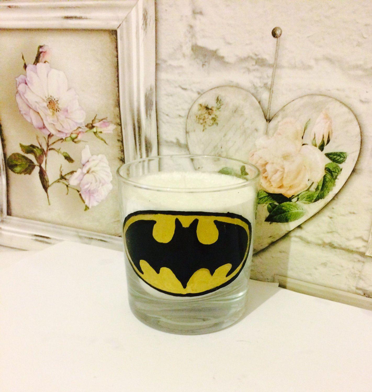 Batman superhero handmade scented candle novelty candle dc candle