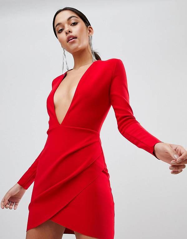 0c6ac6563919e Bec & Bridge Long Sleeve Bodycon Mini Dress | Clothes | Dresses ...