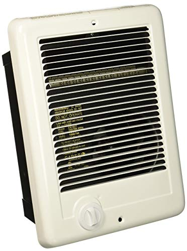 Cadet Csc102tw Com Pak 1000 Watt 240v Complete Wall Heater With Thermostat White Amazon Com Heater Thermostat Watt