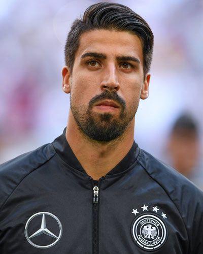 Sami Khedira Sami Khedira Manner Frisuren Fussball