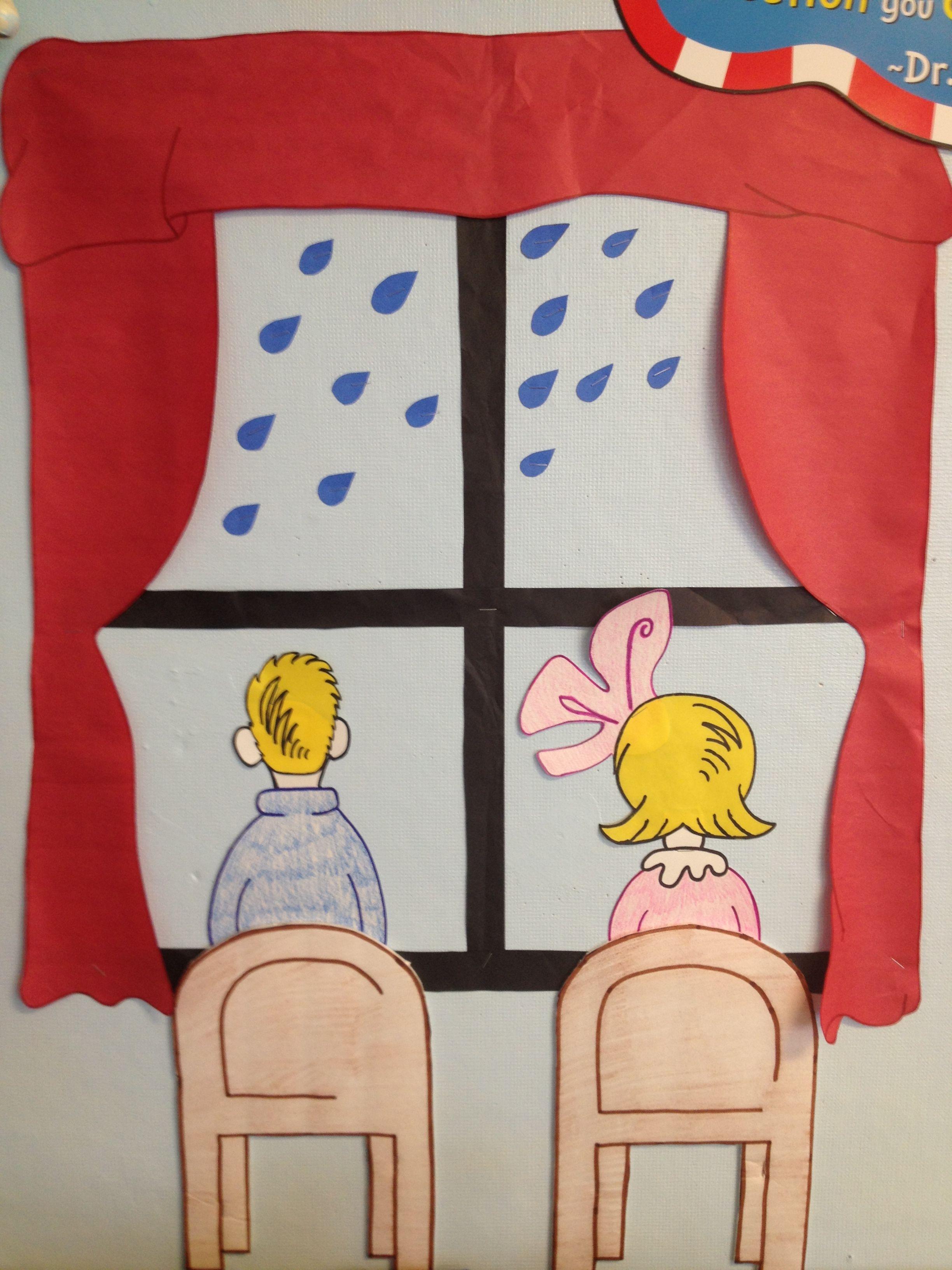 Dr. Seuss classroom decoration