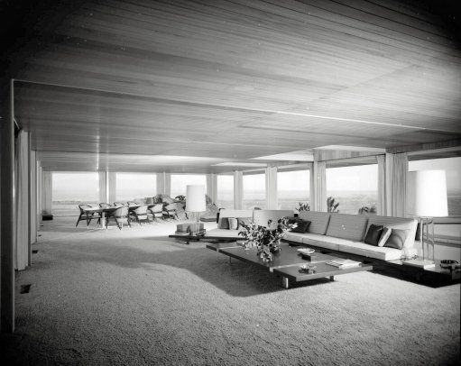 "October 1960. Apple Valley, California. ""Hilltop House"