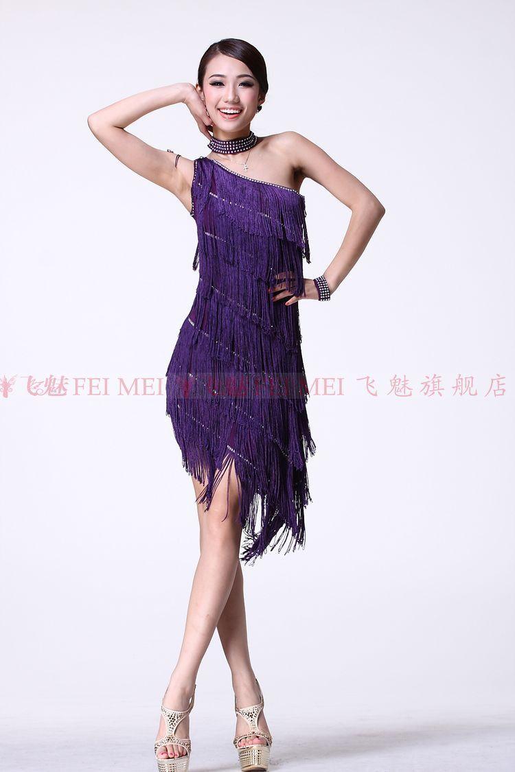 Latin dance wear skirts samba dancing ballroom dance dress women ...