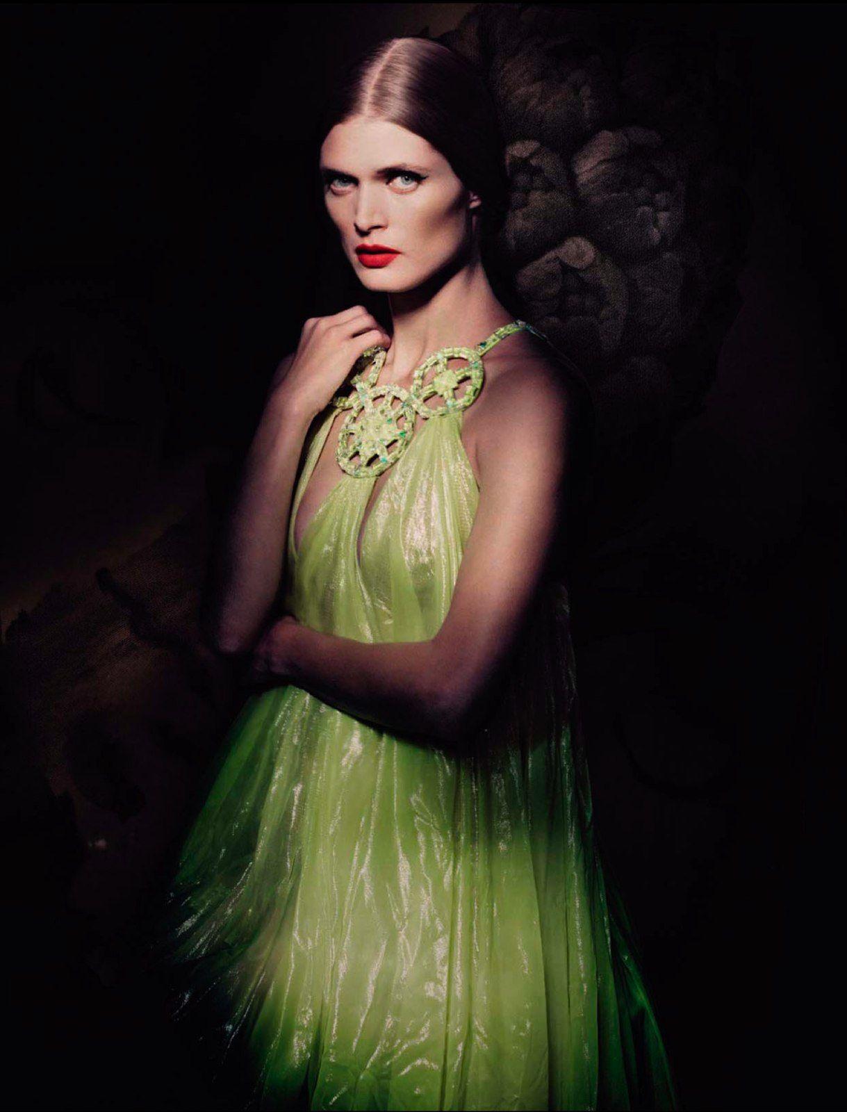 Małgosia Bela by Paolo Roversi for Vogue Italia March 2013