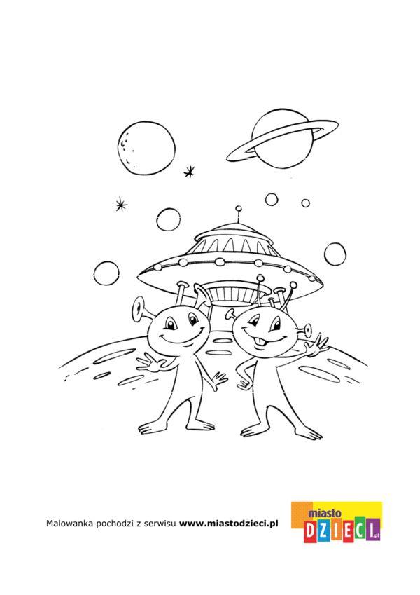 Kosmos Kolorowanki Dla Dzieci Kolorowanki Kolorowanka Kosmos