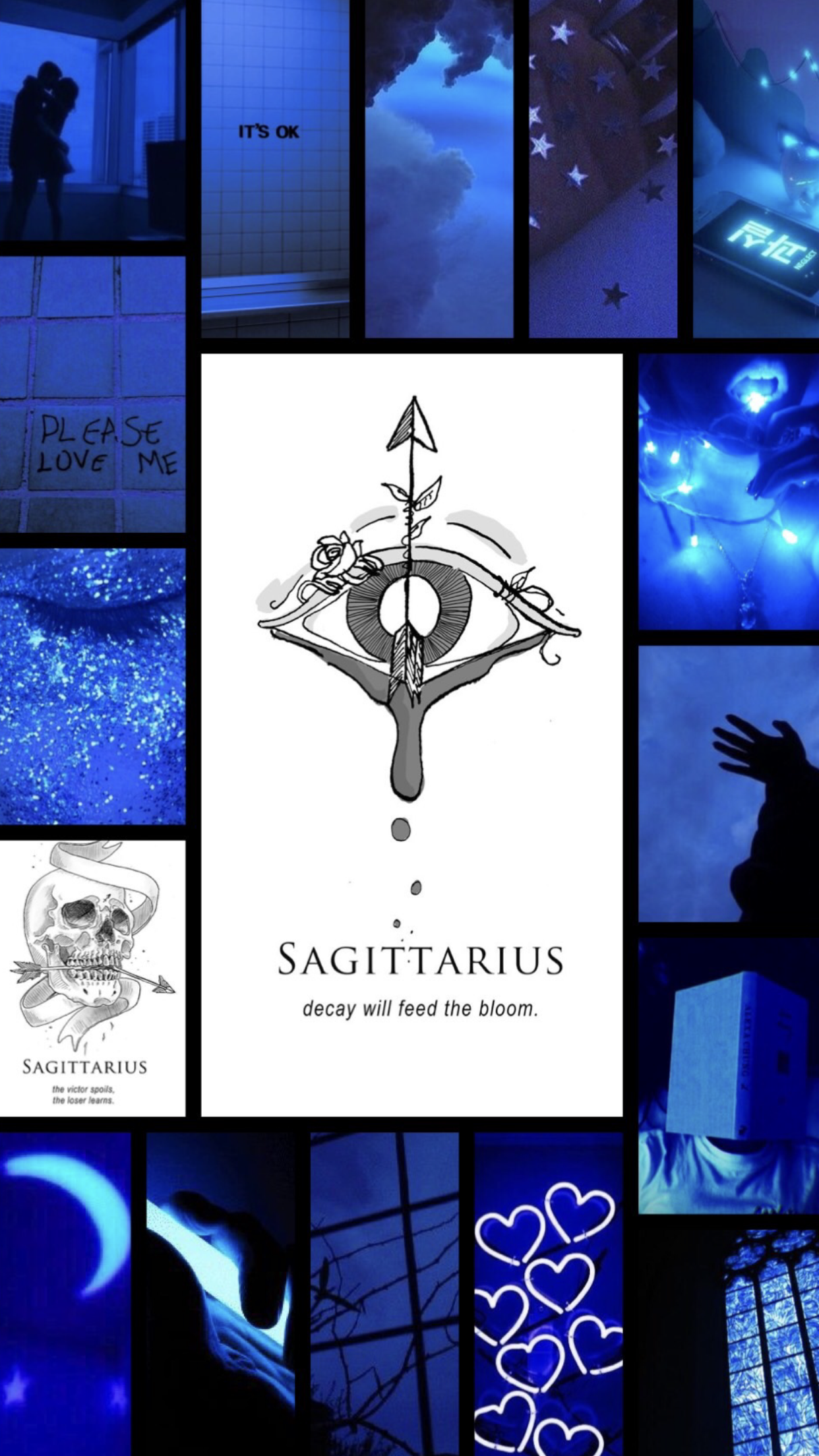 Sagittarius Aesthetic Wallpaper Sagittarius Wallpaper Dark Wallpaper Iphone Aesthetic Iphone Wallpaper