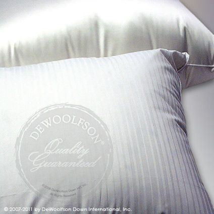 Dewoolfson Linens Goose Down Pillows Pillows Down Pillows