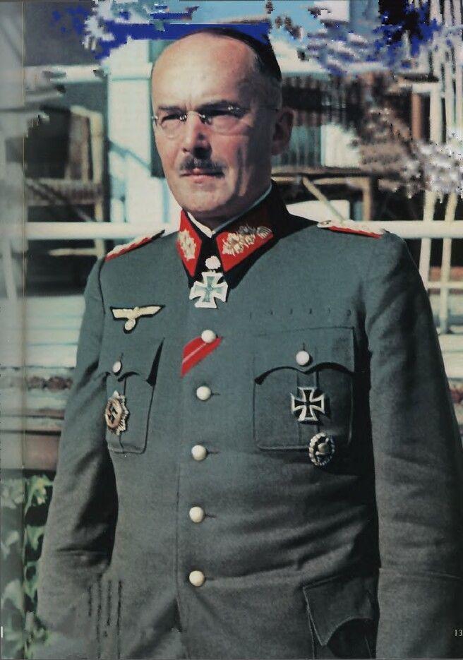 ✠ Lothar Rendulic (23 October 1887 – 17 January 1971) RK 06.03.1942 Generalleutnant Kdr 52. Inf.Div 15.08.1943 [271. EL] General der Infanterie K.G. XXXV. AK