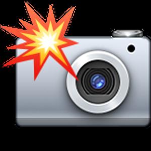 Camera With Flash Emoji Iphone Camera Flash