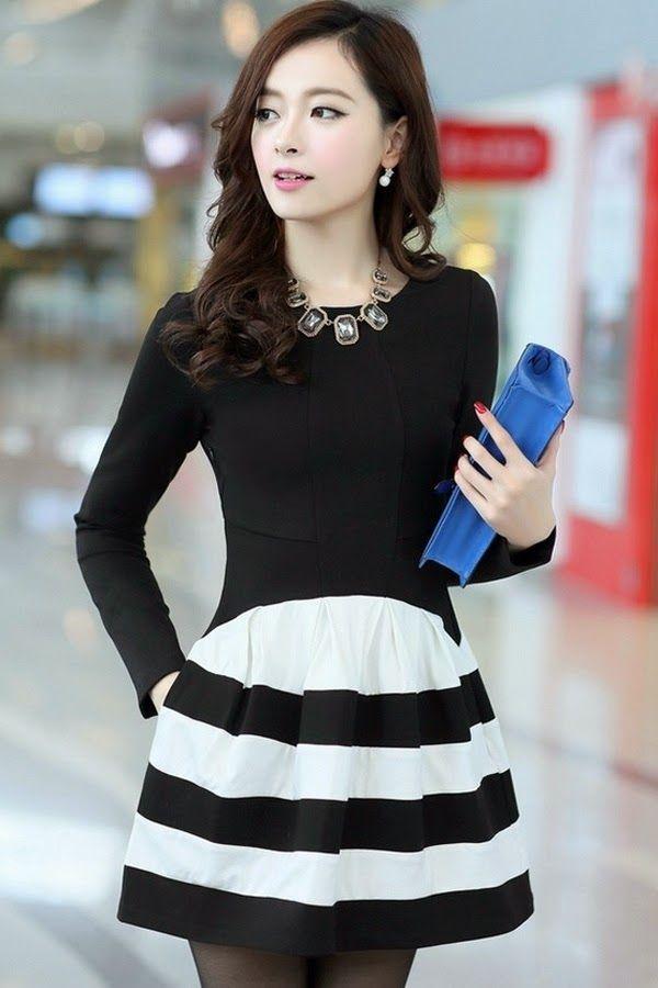 Moda japonesa vestidos casuales