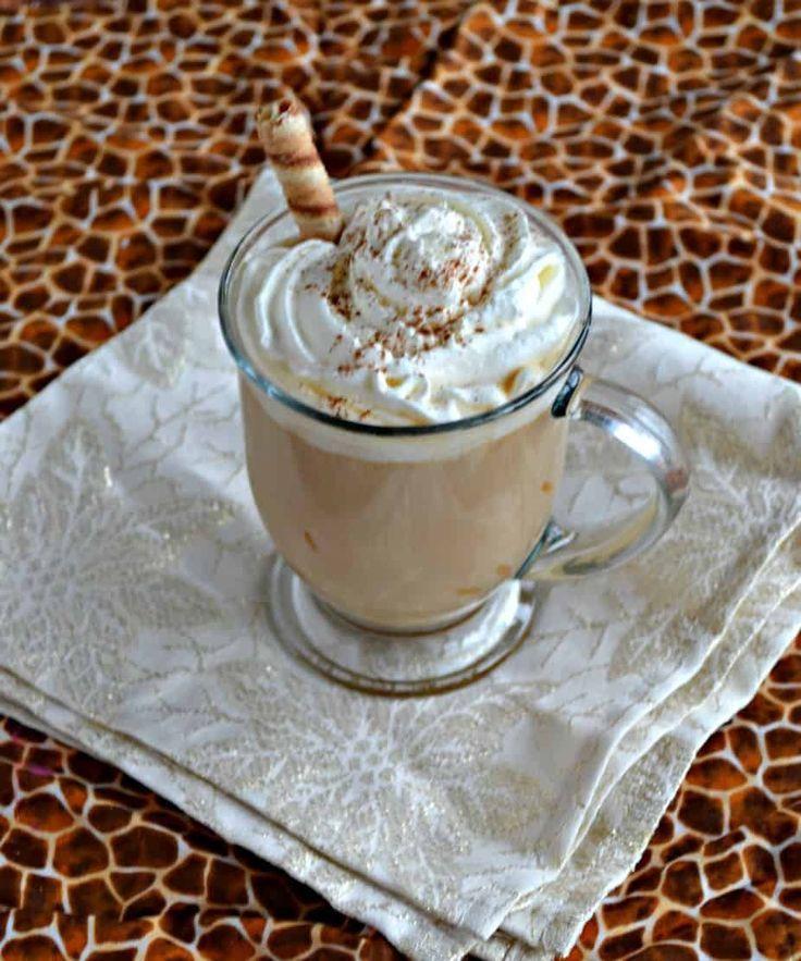 Cinnamon Cookie Butter Latte