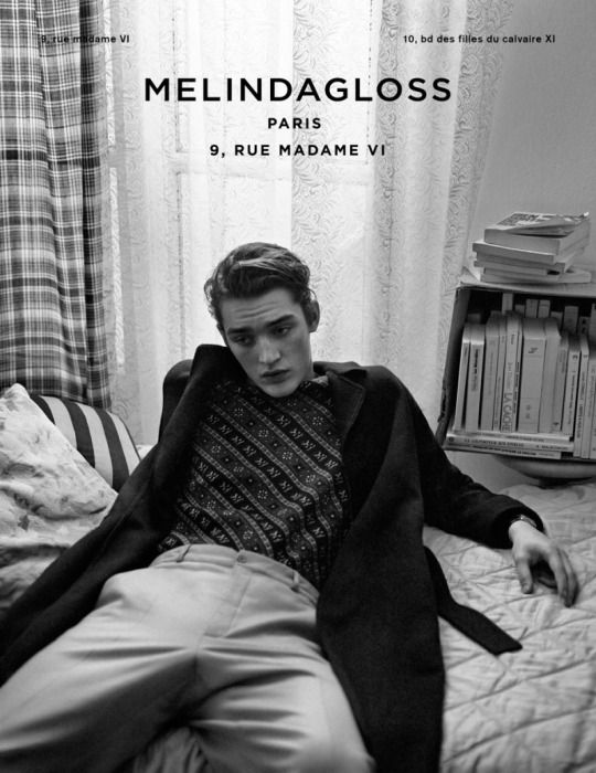 Polished Fall and Winter  Designers Mathieu de Ménonville and Rémi de Laquitane ' MELINDA GLOSS FW'2015 Menswear Campaign by Lachlan Bailey feat. Otto Lotz