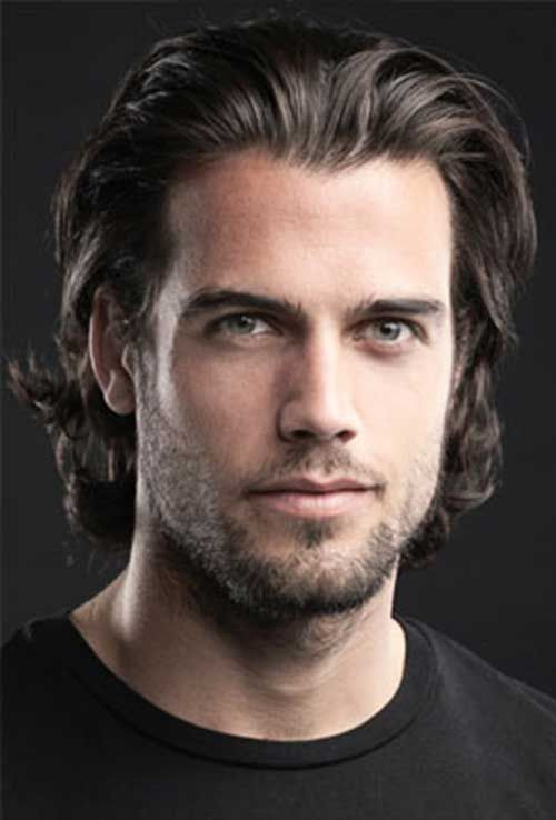 Pin af Kristian Lysdahl på Mens hairstyles   Langt hår til
