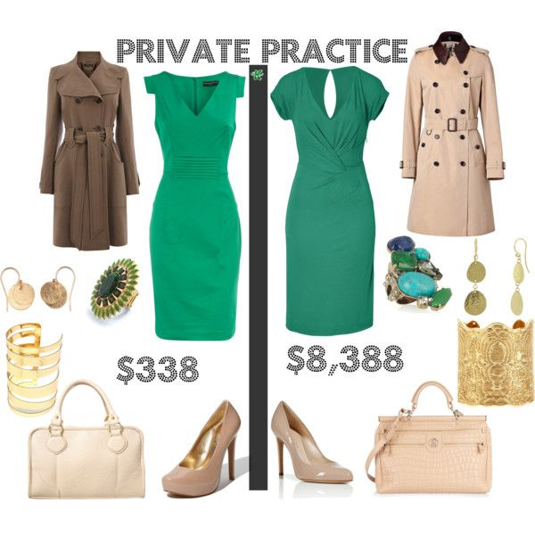 Private Practice Clothes Fashion Work Fashion