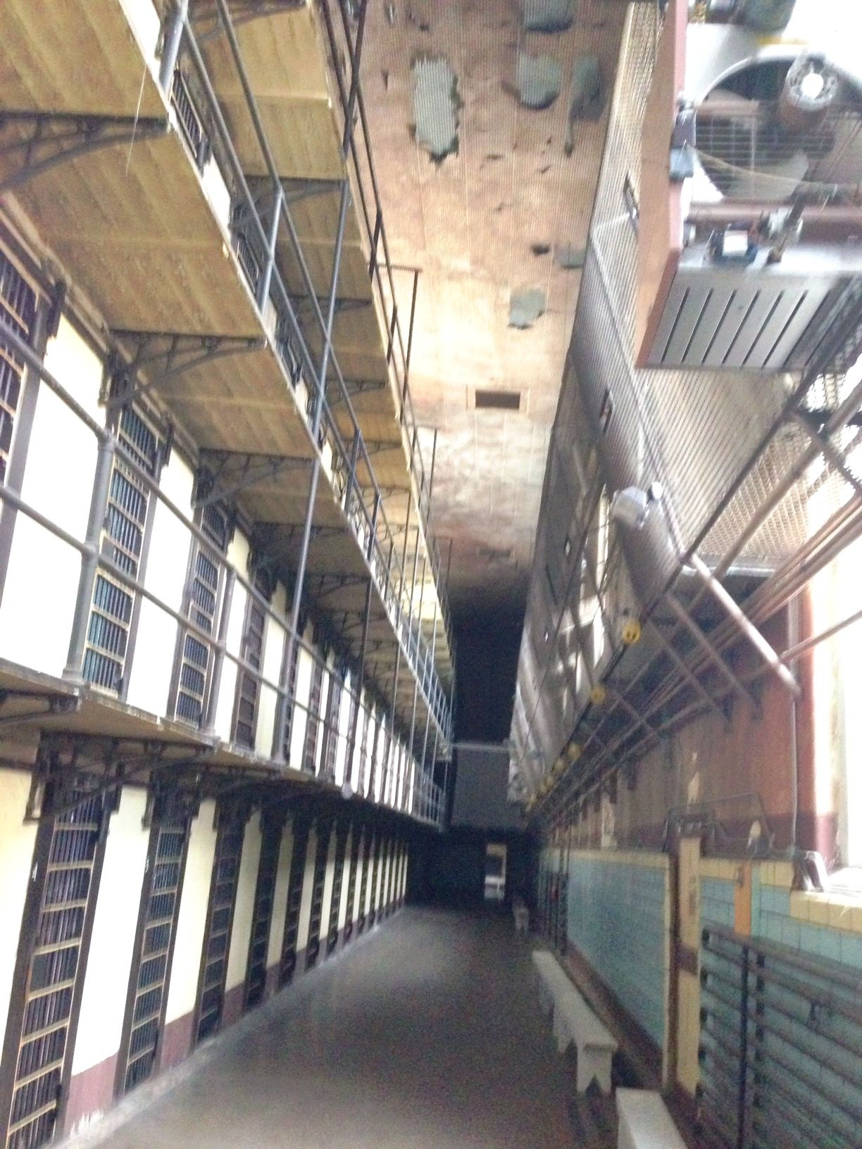 Gallows Mechanism - Picture of Wyoming Frontier Prison