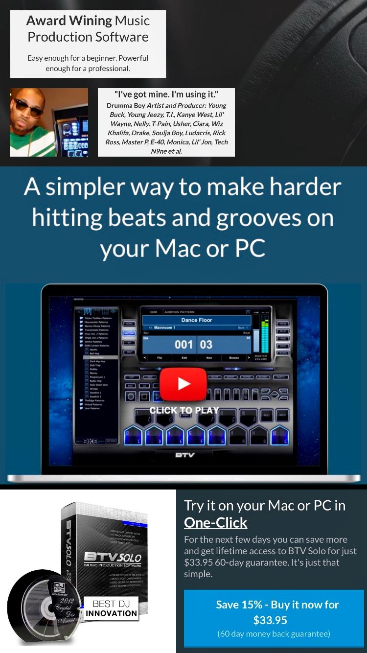 BTV Music Production Software #music #musicsoftware #beats