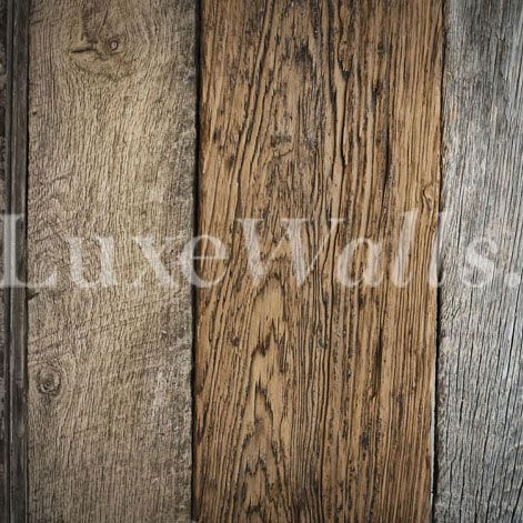 Luxe Walls Wallpapers Vintage Recycle Timber Vintage