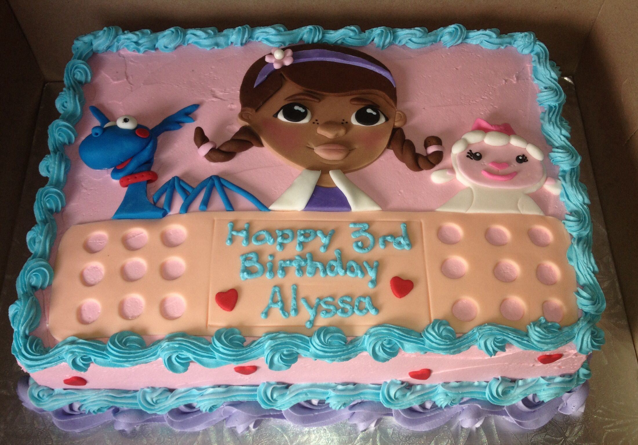Doc Mcstuffins Cake By My Sweet Obsession By Lori Doc Mcstuffins