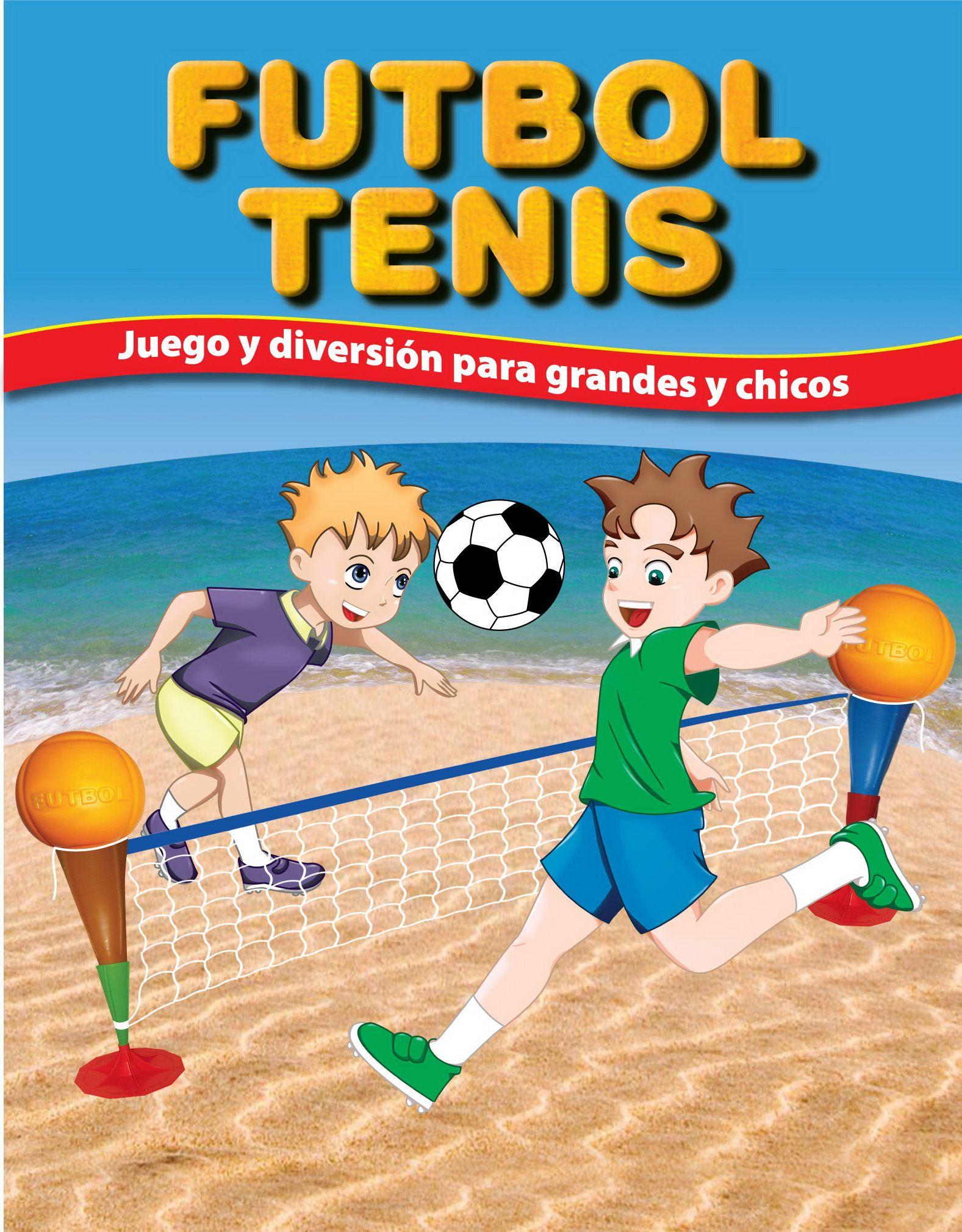 4f7154a7f9ea8 Divertido Juego de Futbol Tenis.