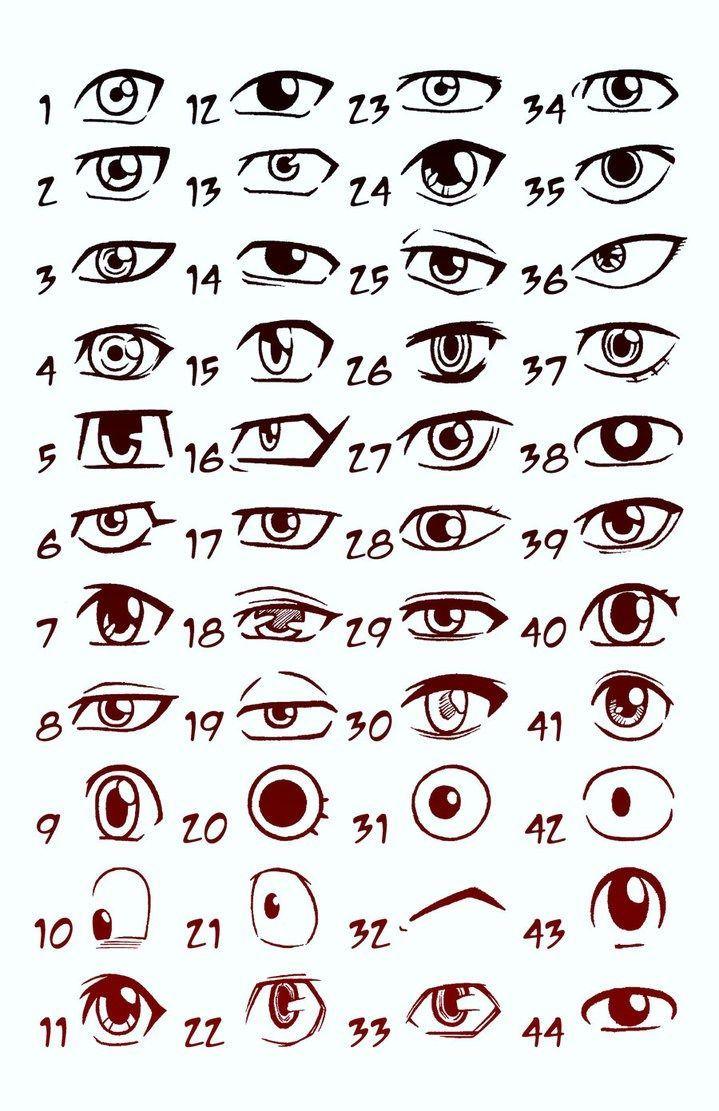how to draw cartoon cat eyes